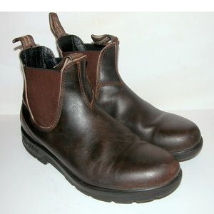 BLUNDSTONE 500 Stout leather Chelsea boots